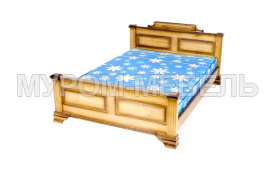 Здесь изображено Кровать Фараон из сосны