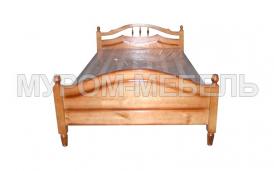 Здесь изображено Кровать Ида из сосны