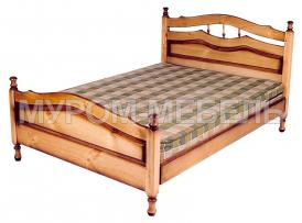 Здесь изображено Кровать Исида из сосны