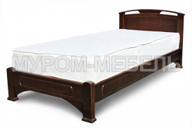 Здесь изображено Односпальная кровать Лаура