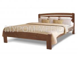 Здесь изображено Деревянная кровать Магнолия