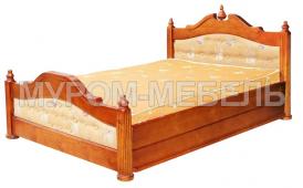 Здесь изображено Кровать Матрона из сосны