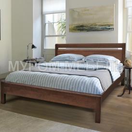 Здесь изображено Кровать Рамона из дуба
