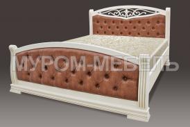 Здесь изображено Деревянная кровать Сицилия