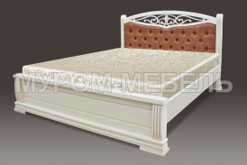 Здесь изображено Кровать Сицилия тахта из дерева