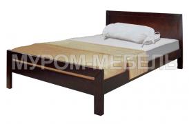 Здесь изображено Деревянная кровать София