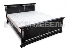 Здесь изображено Деревянная кровать Венеция-2