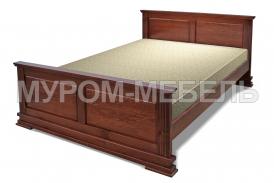 Здесь изображено Деревянная кровать Венеция