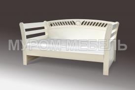 Здесь изображено Деревянная кровать Верона-элит