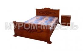 Здесь изображено Кровать Виктория Б из сосны