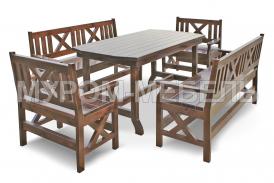 Здесь изображено Набор мебели для веранд и террас