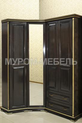 Здесь изображено Шкаф угловой из серии
