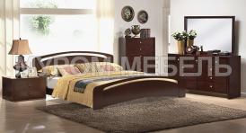Здесь изображено Спальный гарнитур Бали Люкс