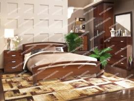Здесь изображено Спальный гарнитур Бали