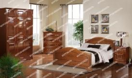 Здесь изображено Спальный гарнитур Сатори