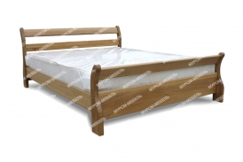 Здесь изображено Кровать Муза из дуба