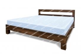 Здесь изображено Кровать Витязь из дуба
